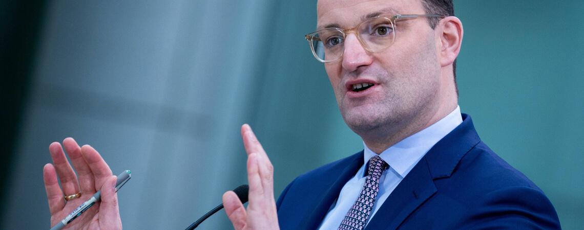 Gesndheitsminister Jens Spahn