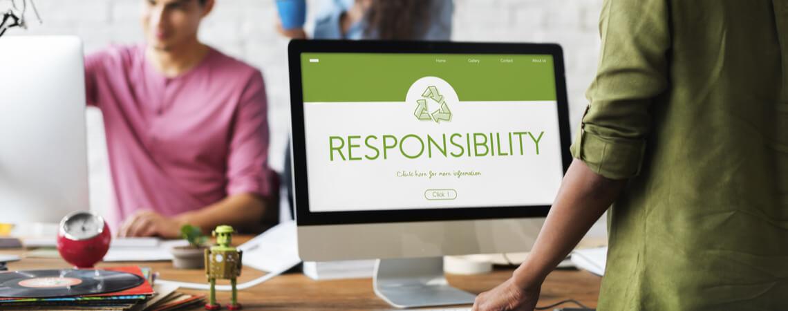 Responsibility auf Desktop