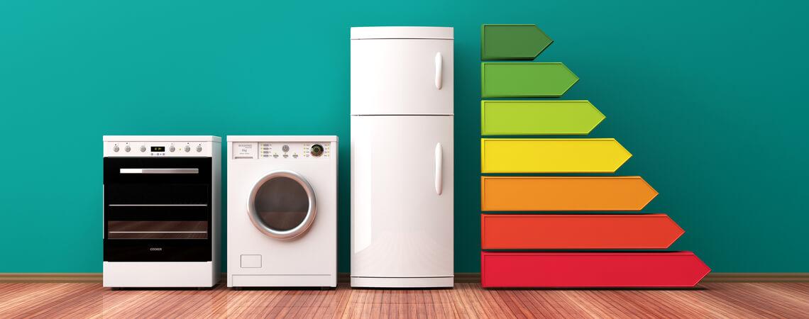 Hausgeräte und Energieeffizienz-Ranking