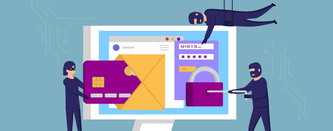 Phishing nach Zugangsdaten