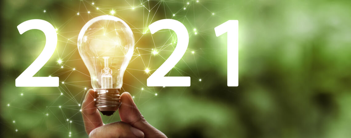 Konzept: Trends 2021