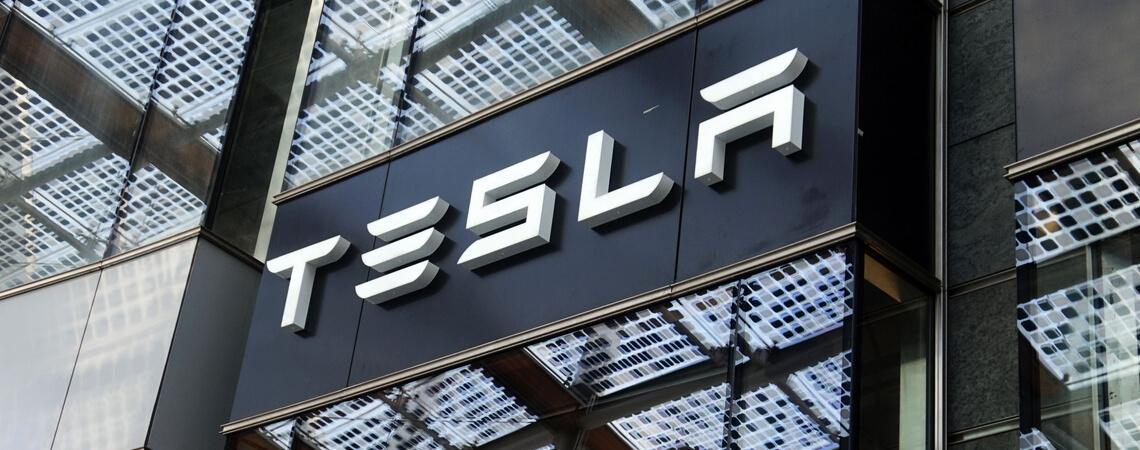 Tesla Gebäude