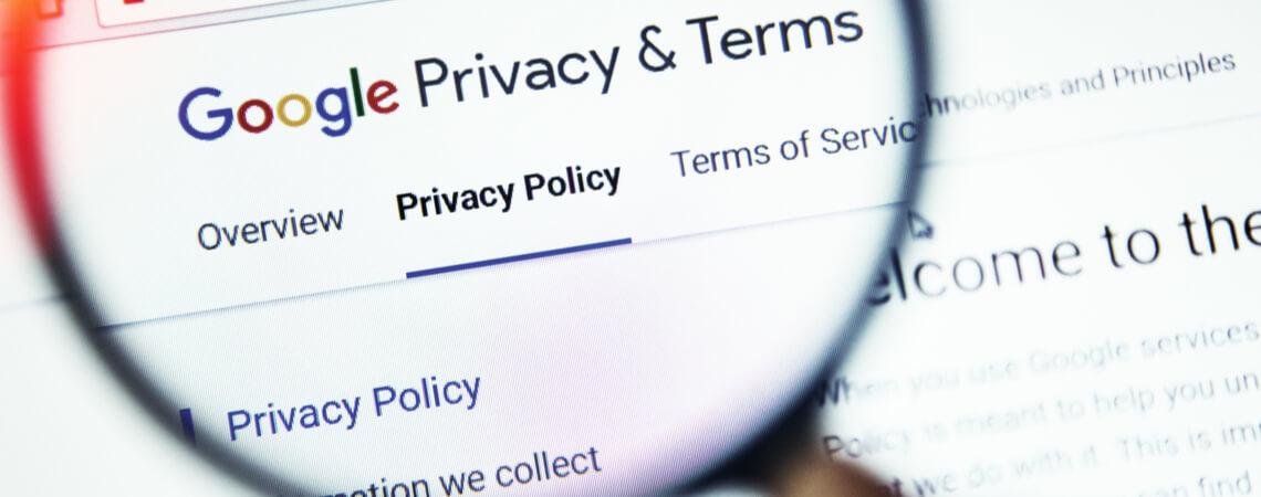 Google Privatsphäre