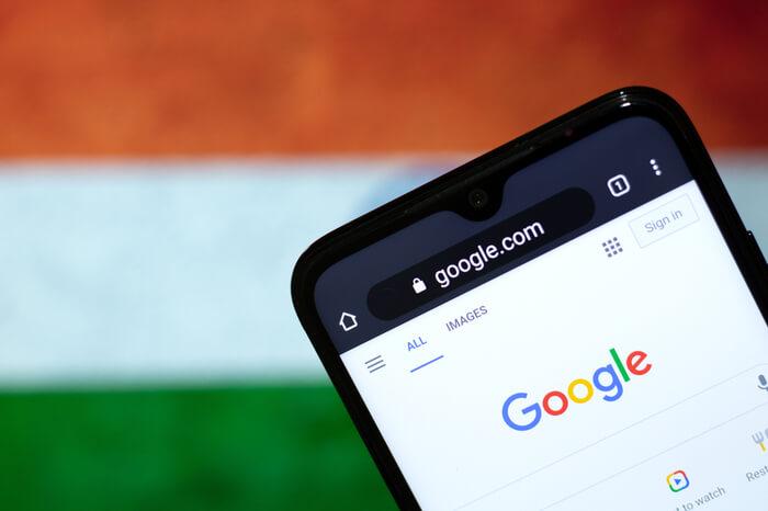 Google Suche auf Smartphone