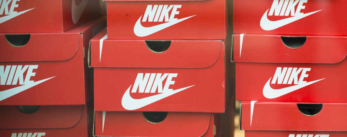 Schuhkartons Nike