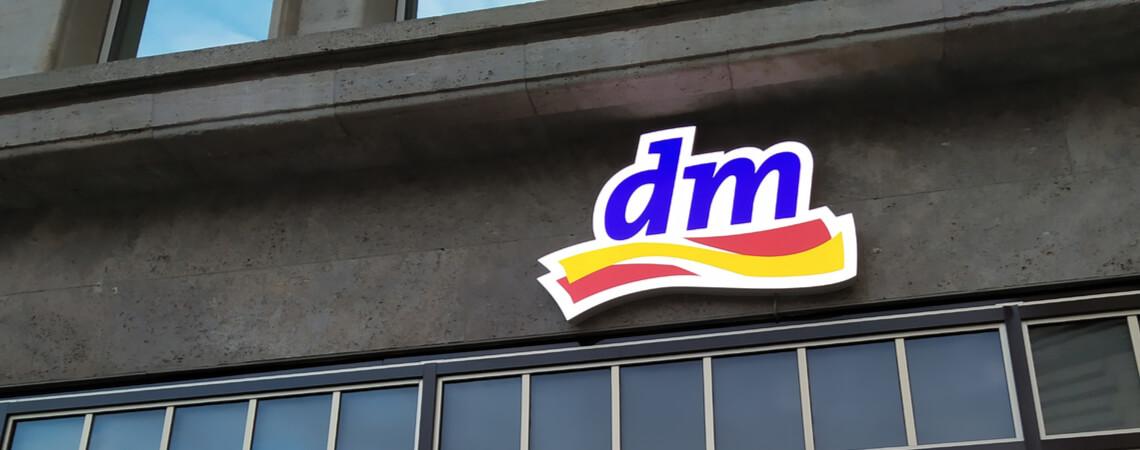 Filiale des Drogisten dm
