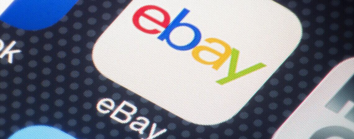 Ebay-App auf einem Smartphone