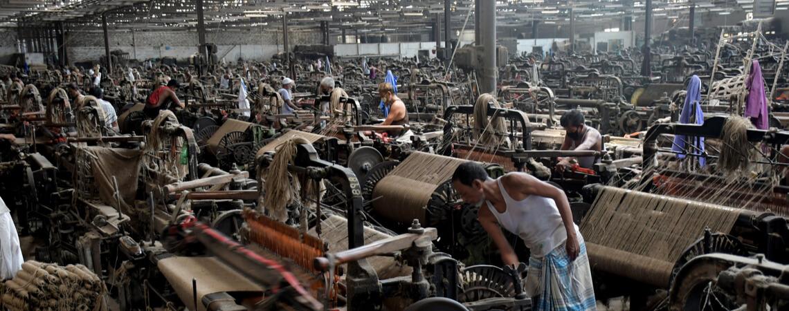 Fabrik in Dhaka, Bangladesch