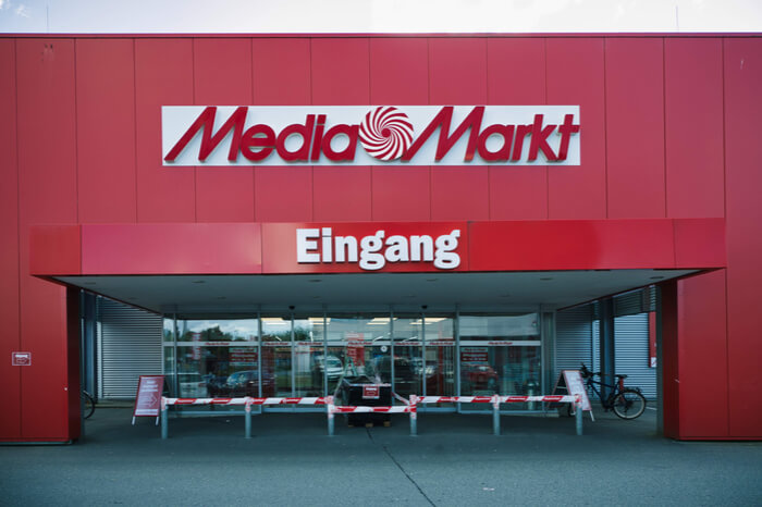 Media Markt Eingang
