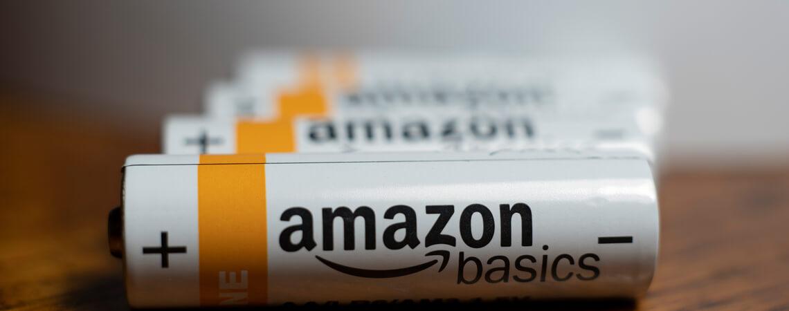 Amazon Basics Batterien