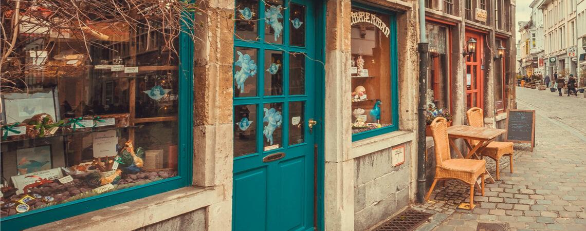Historische Ladenfronten