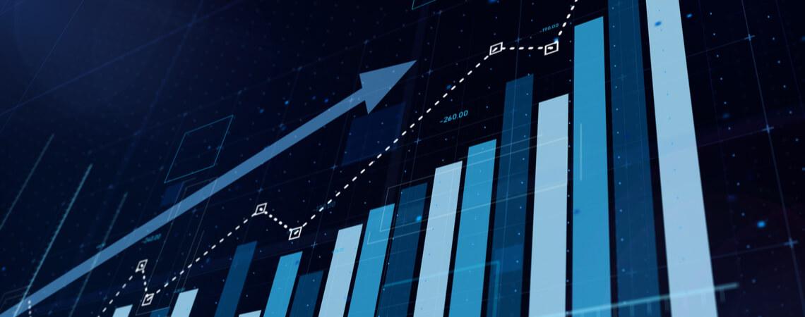 Anstieg Graph