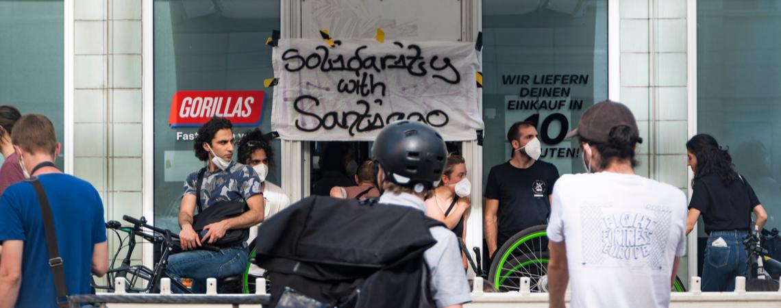 Gorillas-Streik in Berlin