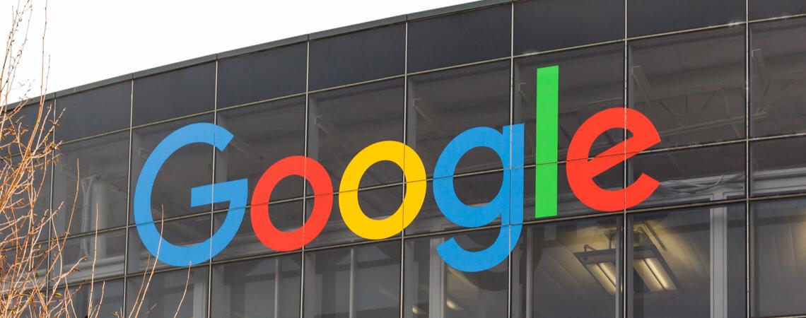 Gebäude des Suchmaschinenriesen Google