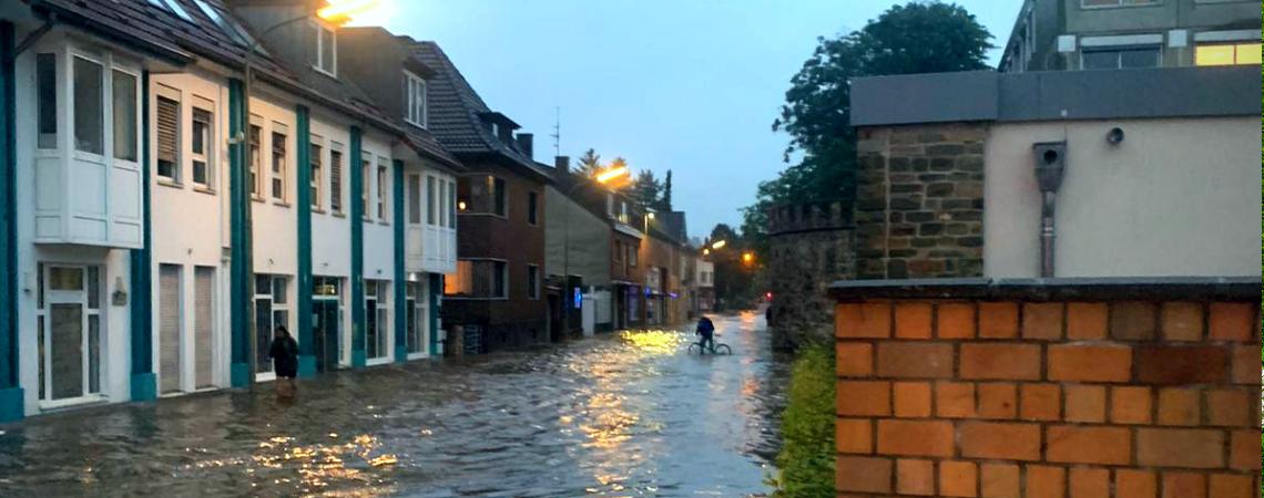 Flut in Eschweiler