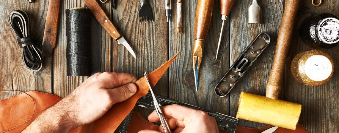 Werkzeuge Handarbeit