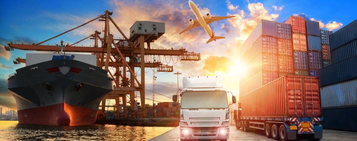 Logistik Lieferketten weltweit