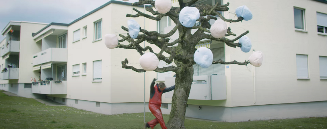 Airbags am Baum