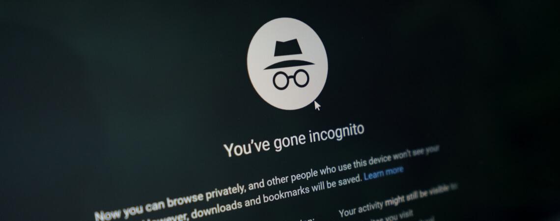 Inkognito-Modus Chrome