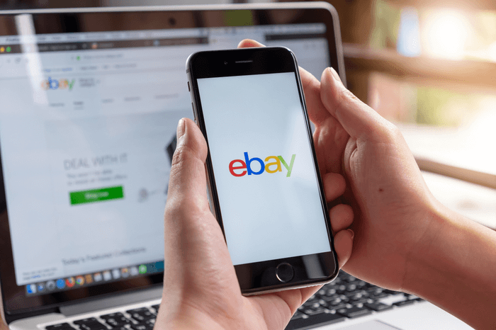 Ebay auf Smartphone