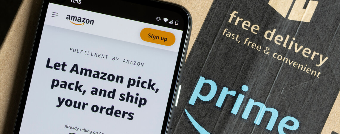 Amazon-Seite