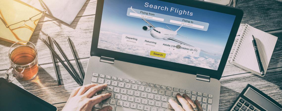 Flugbuchung online