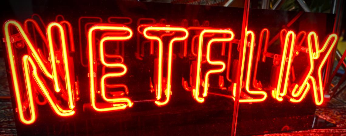 Netflix Leuchtschrift