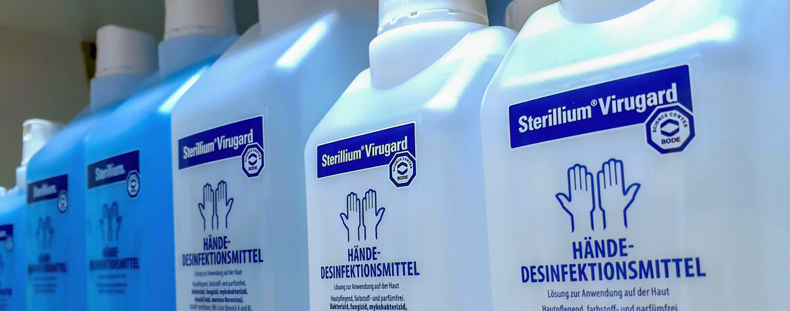 Sterillium-Desinfektionsmittel